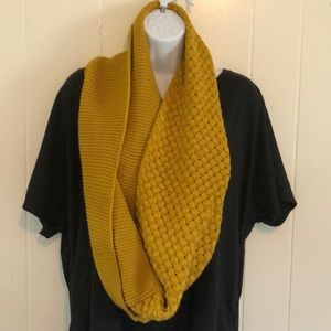 Mustard Yellow Thick Scarf